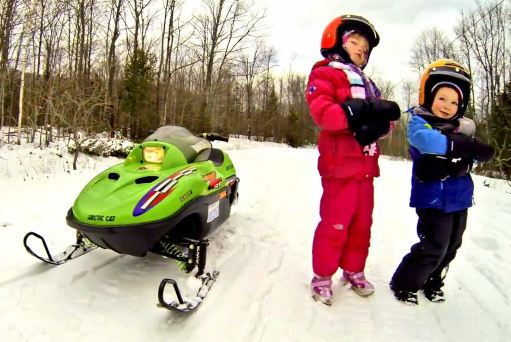 GoPro Hero3 Family Video Tips - Arctic Cat Kids Snowmobiling