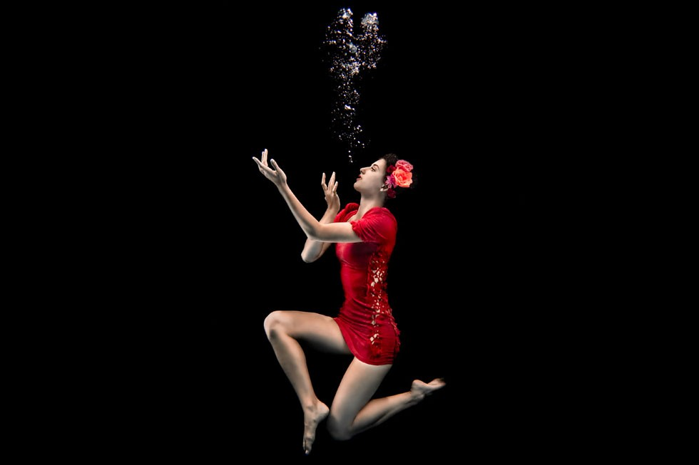 Underwater Fashion Model Photography Toronto Commercial Photographer