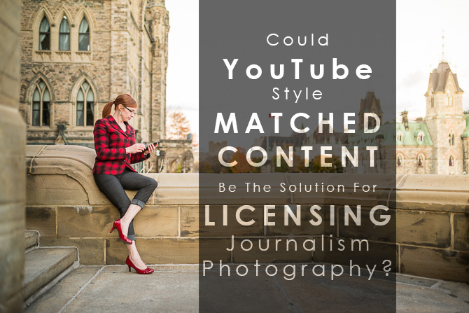 matched content for licensing journalism and photography